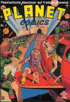 Planet Comics 1-7 - Bild vergrößern
