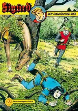 Sigurd Kolibri - Der rachsüchtige Dieb - Bild vergrößern