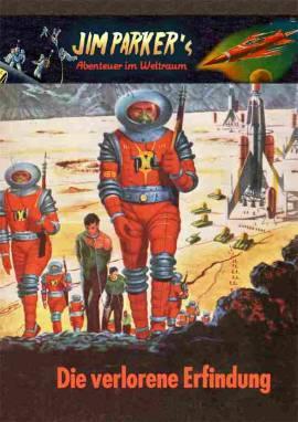 Jim Parker 15 -  Die verlorene Erfindung / Abschlussband