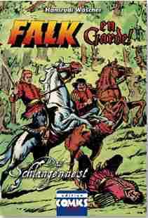 Falk Buch - Das Schlangennest / sw-Ausgabe