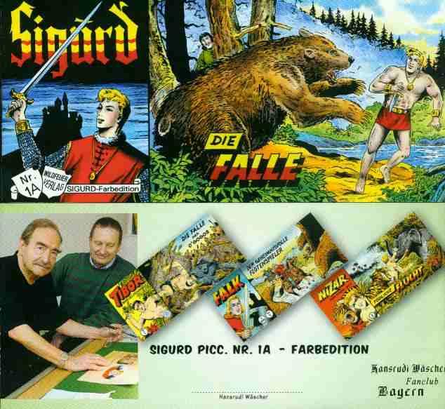 Sigurd I Serie 1 Farbedition Mit Ehemaligen Nur 12 50 Eur